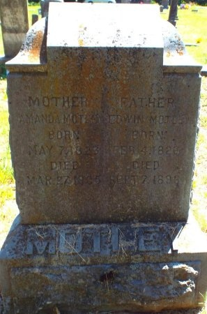 MOTLEY, AMANDA - Lawrence County, Missouri | AMANDA MOTLEY - Missouri Gravestone Photos