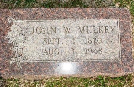 MULKEY, JOHN WILLIAM - Lawrence County, Missouri | JOHN WILLIAM MULKEY - Missouri Gravestone Photos