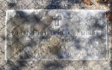 MULLET, KENNETH LEROY (VETERAN-KOR) - Lawrence County, Missouri   KENNETH LEROY (VETERAN-KOR) MULLET - Missouri Gravestone Photos