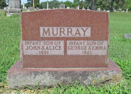 MURRAY, INFANT SON - Lawrence County, Missouri | INFANT SON MURRAY - Missouri Gravestone Photos