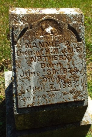 NORTHERN, NANNIE A - Lawrence County, Missouri | NANNIE A NORTHERN - Missouri Gravestone Photos