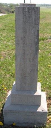 ORRICK, CHARLES W - Lawrence County, Missouri | CHARLES W ORRICK - Missouri Gravestone Photos