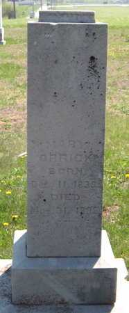 ORRICK, MARY - Lawrence County, Missouri | MARY ORRICK - Missouri Gravestone Photos