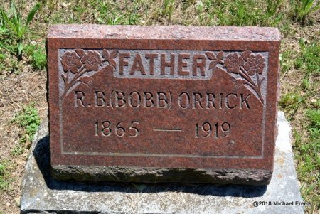 ORRICK, R.B. - Lawrence County, Missouri | R.B. ORRICK - Missouri Gravestone Photos