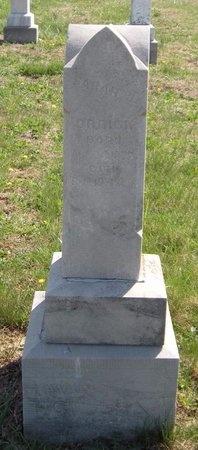 ORRICK, SARAH JANE - Lawrence County, Missouri | SARAH JANE ORRICK - Missouri Gravestone Photos