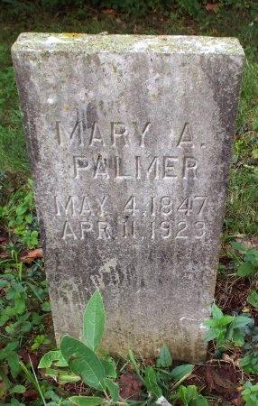PALMER, MARY A - Lawrence County, Missouri | MARY A PALMER - Missouri Gravestone Photos