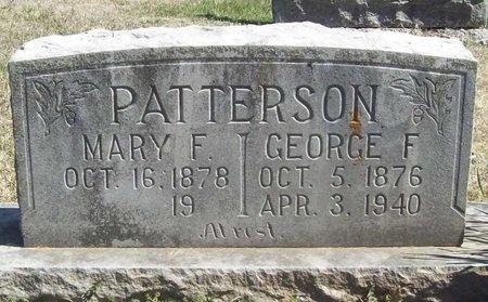 PATTERSON, MARY F. - Lawrence County, Missouri | MARY F. PATTERSON - Missouri Gravestone Photos