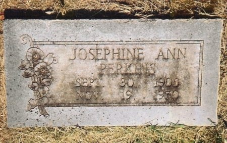 PERKINS, JOSEPHINE ANN - Lawrence County, Missouri | JOSEPHINE ANN PERKINS - Missouri Gravestone Photos