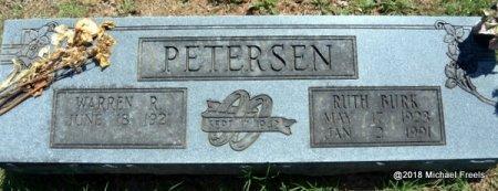 PETERSEN, RUTH - Lawrence County, Missouri | RUTH PETERSEN - Missouri Gravestone Photos