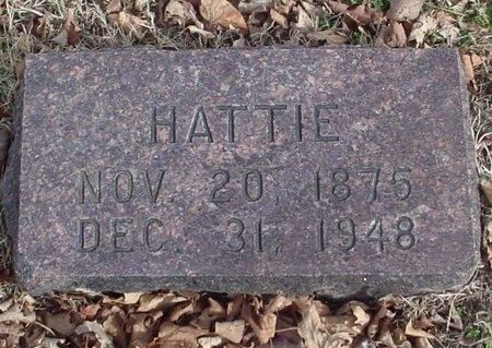 PETERSON, HATTIE - Lawrence County, Missouri | HATTIE PETERSON - Missouri Gravestone Photos