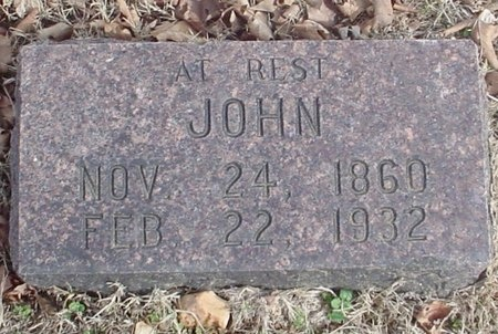 PETERSON, JOHN - Lawrence County, Missouri | JOHN PETERSON - Missouri Gravestone Photos