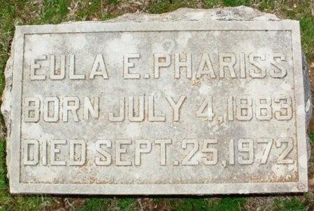PHARISS, EULA ELINOR - Lawrence County, Missouri | EULA ELINOR PHARISS - Missouri Gravestone Photos