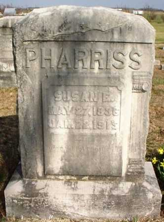 PHARRISS, SUSAN E. - Lawrence County, Missouri   SUSAN E. PHARRISS - Missouri Gravestone Photos