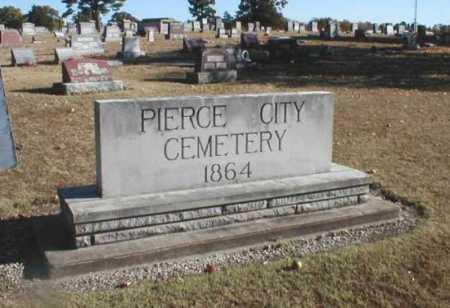 *PIERCE CITY CEMETERY, . - Lawrence County, Missouri   . *PIERCE CITY CEMETERY - Missouri Gravestone Photos