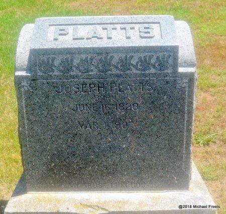 PLATTS, JOSEPH - Lawrence County, Missouri | JOSEPH PLATTS - Missouri Gravestone Photos