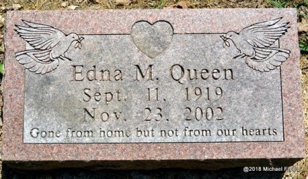QUEEN, EDNA M. - Lawrence County, Missouri | EDNA M. QUEEN - Missouri Gravestone Photos
