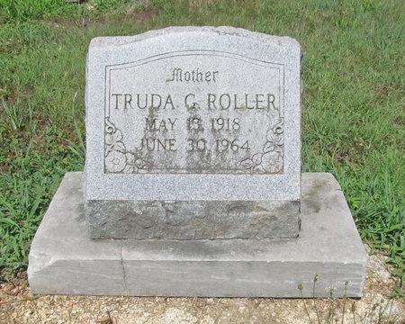SMITH ROLLER, TRUDA GEORGIA - Lawrence County, Missouri | TRUDA GEORGIA SMITH ROLLER - Missouri Gravestone Photos