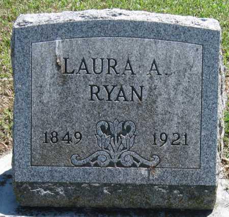 SHERMAN RYAN, LAURA A - Lawrence County, Missouri | LAURA A SHERMAN RYAN - Missouri Gravestone Photos