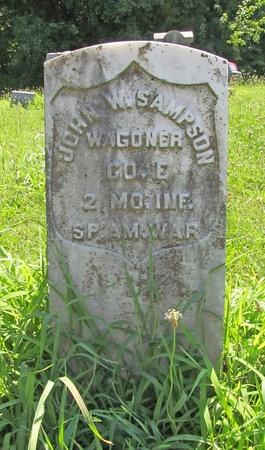 SAMPSON, JOHN W VETERAN SAW - Lawrence County, Missouri | JOHN W VETERAN SAW SAMPSON - Missouri Gravestone Photos