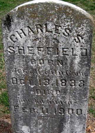 SHEFFIELD, CHARLES S - Lawrence County, Missouri | CHARLES S SHEFFIELD - Missouri Gravestone Photos