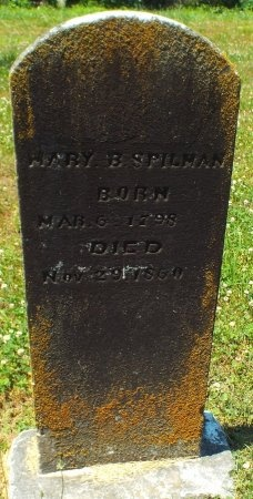 "BOUCHER SPILMAN, MARY ""POLLY"" - Lawrence County, Missouri | MARY ""POLLY"" BOUCHER SPILMAN - Missouri Gravestone Photos"