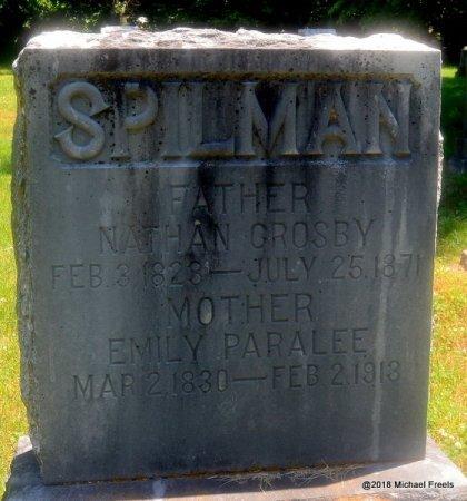 SPILMAN, NATHAN CROSBY - Lawrence County, Missouri | NATHAN CROSBY SPILMAN - Missouri Gravestone Photos