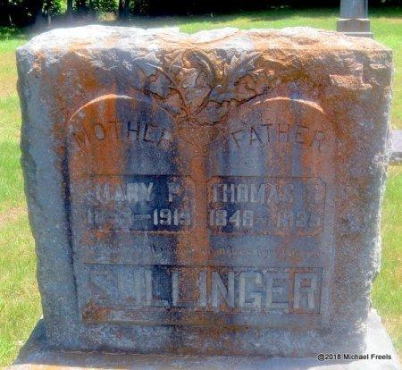 SULLINGER, MARY P. - Lawrence County, Missouri | MARY P. SULLINGER - Missouri Gravestone Photos