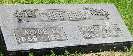 SUTTON, WILLIAM OLIVER - Lawrence County, Missouri | WILLIAM OLIVER SUTTON - Missouri Gravestone Photos