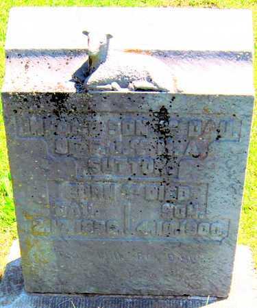 SUTTON, INFANT SON - Lawrence County, Missouri   INFANT SON SUTTON - Missouri Gravestone Photos