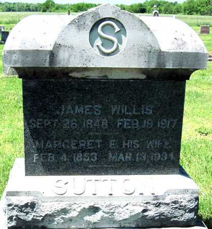 SUTTON, JAMES WILLIS - Lawrence County, Missouri | JAMES WILLIS SUTTON - Missouri Gravestone Photos
