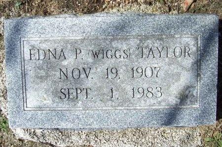 TAYLOR, EDNA P. - Lawrence County, Missouri | EDNA P. TAYLOR - Missouri Gravestone Photos