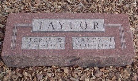 TAYLOR, GEORGE W. - Lawrence County, Missouri | GEORGE W. TAYLOR - Missouri Gravestone Photos