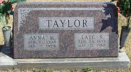 TAYLOR, LATE SYLVANUS - Lawrence County, Missouri   LATE SYLVANUS TAYLOR - Missouri Gravestone Photos