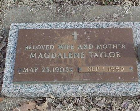 TAYLOR, MAGDALENE BRIDGET LUCRETIA - Lawrence County, Missouri | MAGDALENE BRIDGET LUCRETIA TAYLOR - Missouri Gravestone Photos