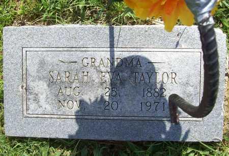 TAYLOR, SARAH EVA - Lawrence County, Missouri | SARAH EVA TAYLOR - Missouri Gravestone Photos