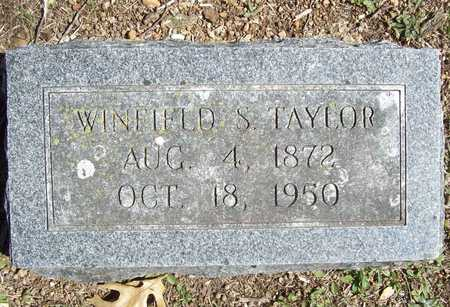 TAYLOR, WINFIELD S. - Lawrence County, Missouri | WINFIELD S. TAYLOR - Missouri Gravestone Photos