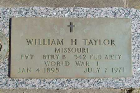 TAYLOR, WILLIAM H (VETERAN WWI) - Lawrence County, Missouri   WILLIAM H (VETERAN WWI) TAYLOR - Missouri Gravestone Photos
