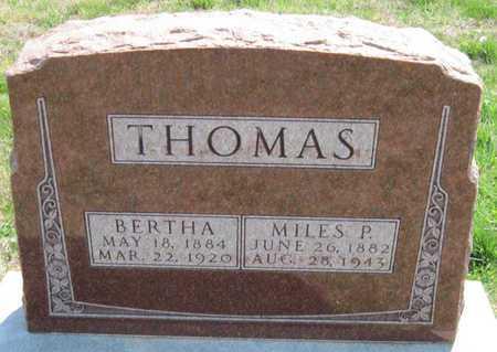 THOMAS, MILES PORTER - Lawrence County, Missouri | MILES PORTER THOMAS - Missouri Gravestone Photos