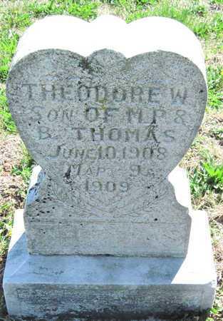 THOMAS, THEODORE - Lawrence County, Missouri | THEODORE THOMAS - Missouri Gravestone Photos