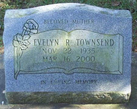 TOWNSEND, EVELYN R. - Lawrence County, Missouri | EVELYN R. TOWNSEND - Missouri Gravestone Photos