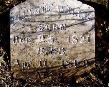 WILLIS, ELENNOR - Lawrence County, Missouri | ELENNOR WILLIS - Missouri Gravestone Photos