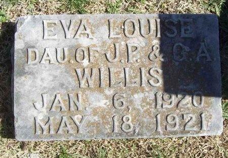 WILLIS, EVA LOUISE - Lawrence County, Missouri | EVA LOUISE WILLIS - Missouri Gravestone Photos