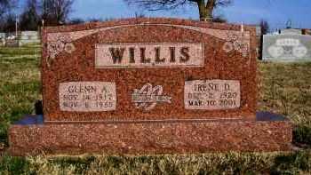 WILLIS, GLENN A. - Lawrence County, Missouri   GLENN A. WILLIS - Missouri Gravestone Photos