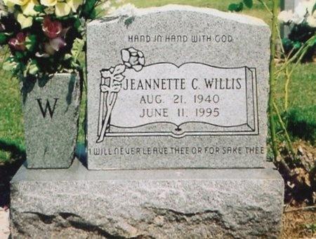 WILLIS, JEANNETTE C. - Lawrence County, Missouri | JEANNETTE C. WILLIS - Missouri Gravestone Photos