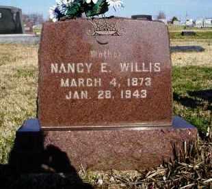 WILLIS, NANCY E. - Lawrence County, Missouri | NANCY E. WILLIS - Missouri Gravestone Photos