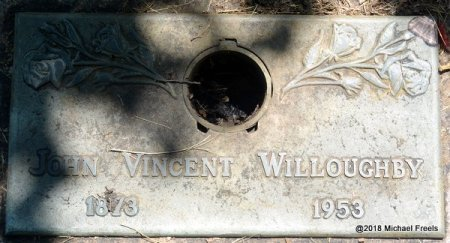 WILLOUGHBY, JOHN VINCENT - Lawrence County, Missouri | JOHN VINCENT WILLOUGHBY - Missouri Gravestone Photos