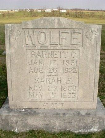 WOLFE, BARNETT C. - Lawrence County, Missouri | BARNETT C. WOLFE - Missouri Gravestone Photos