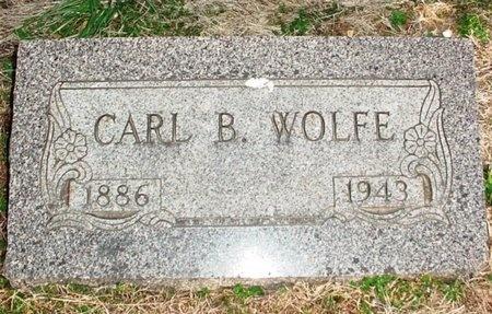 WOLFE, CARL B. - Lawrence County, Missouri | CARL B. WOLFE - Missouri Gravestone Photos