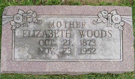WOODS, ELIZABETH - Lawrence County, Missouri   ELIZABETH WOODS - Missouri Gravestone Photos