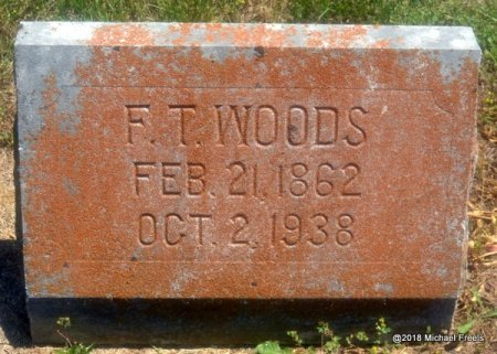 WOODS, F.T. - Lawrence County, Missouri | F.T. WOODS - Missouri Gravestone Photos